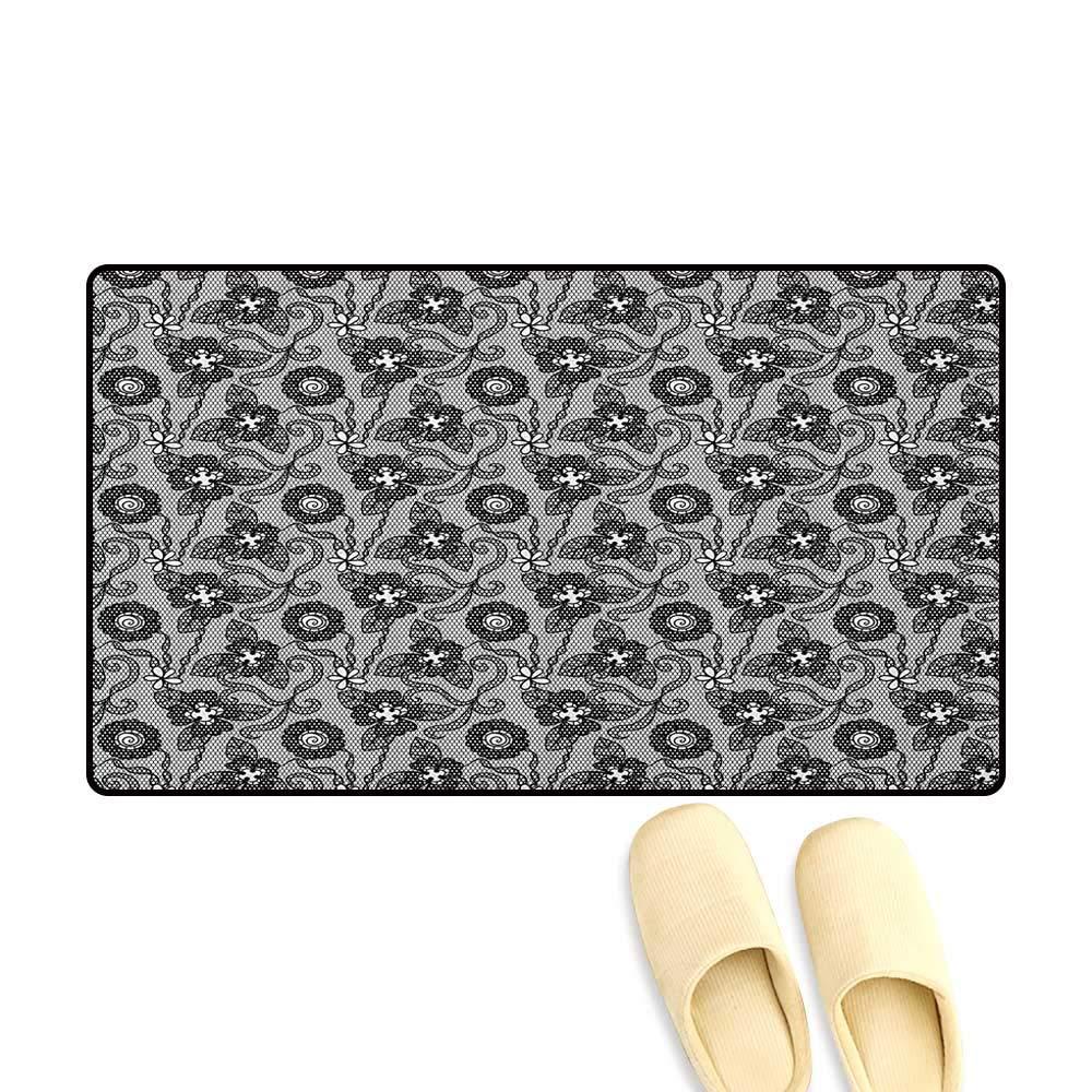 Amazon.com : zojihouse Gothic Bathroom Mat for tub Non Slip ...