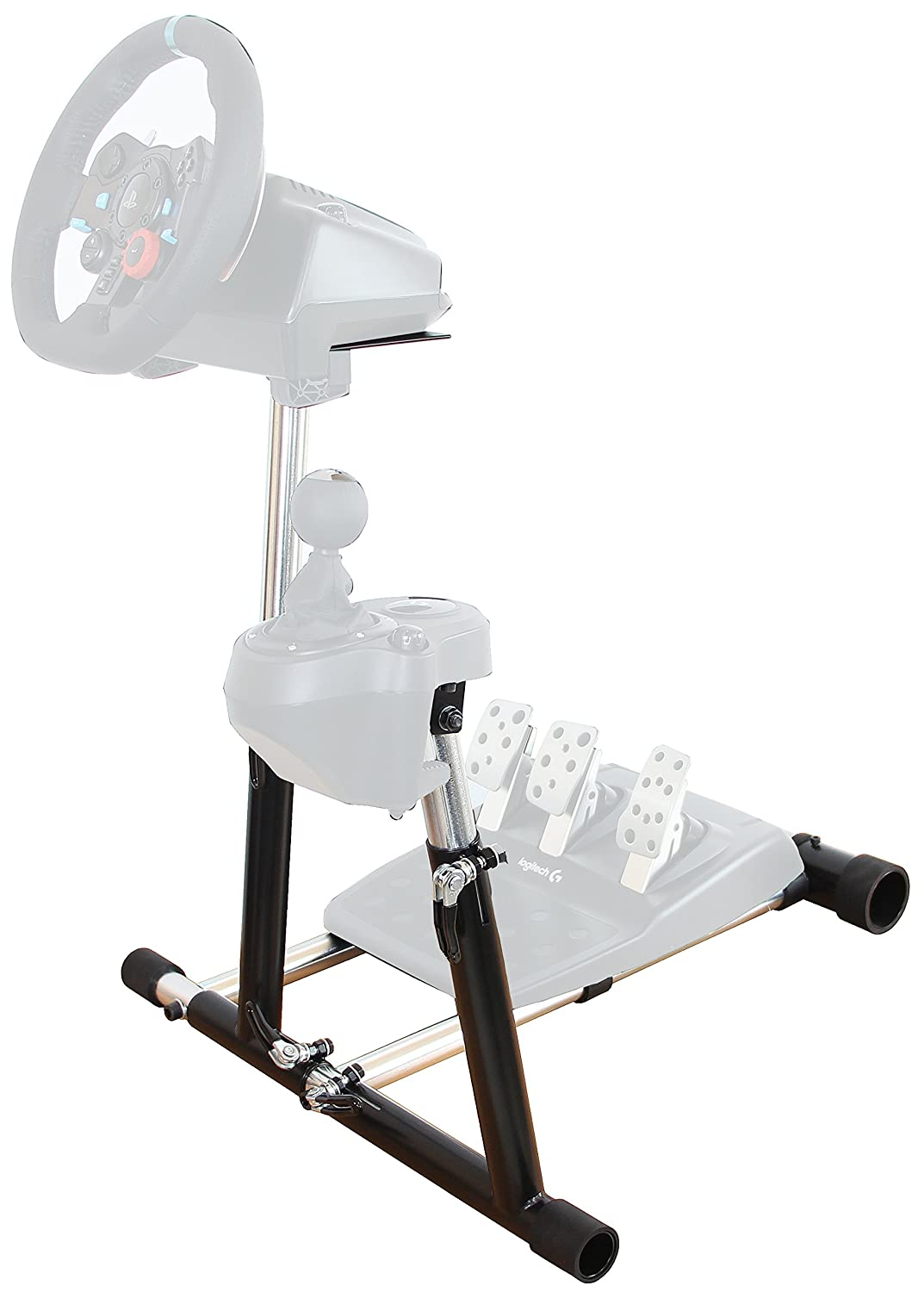 af06824549b Wheel Stand Pro SuperG Steering with RGS shifter mount compatible with  Logitech G29, G920 G27 G25 Wheels, Deluxe V2, Wheel and Pedals Not included.