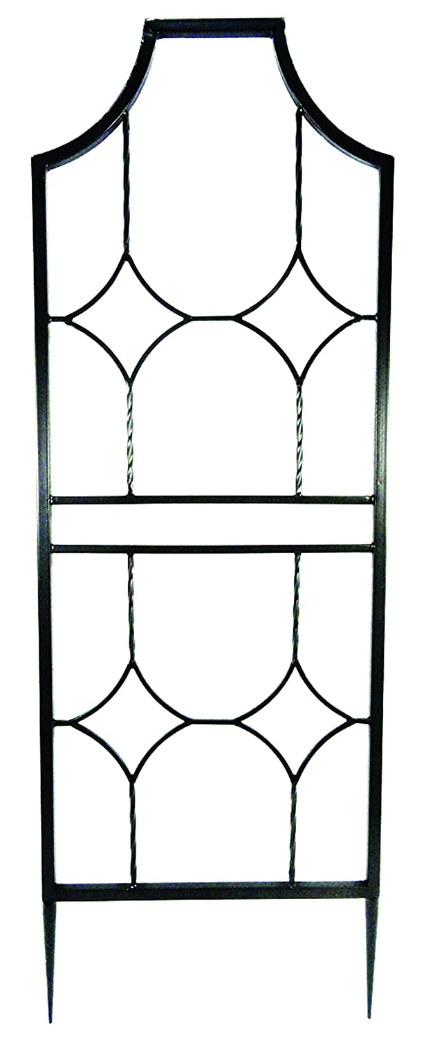 Gardman R980 Blacksmith Trellis, Black, 24 Wide x 6 High