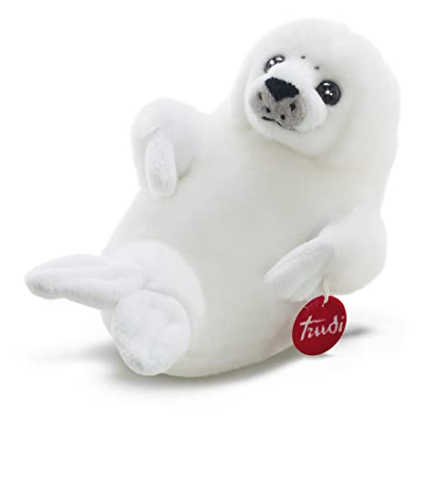 Trudi Classic Baby Seal Plush Toy, Small