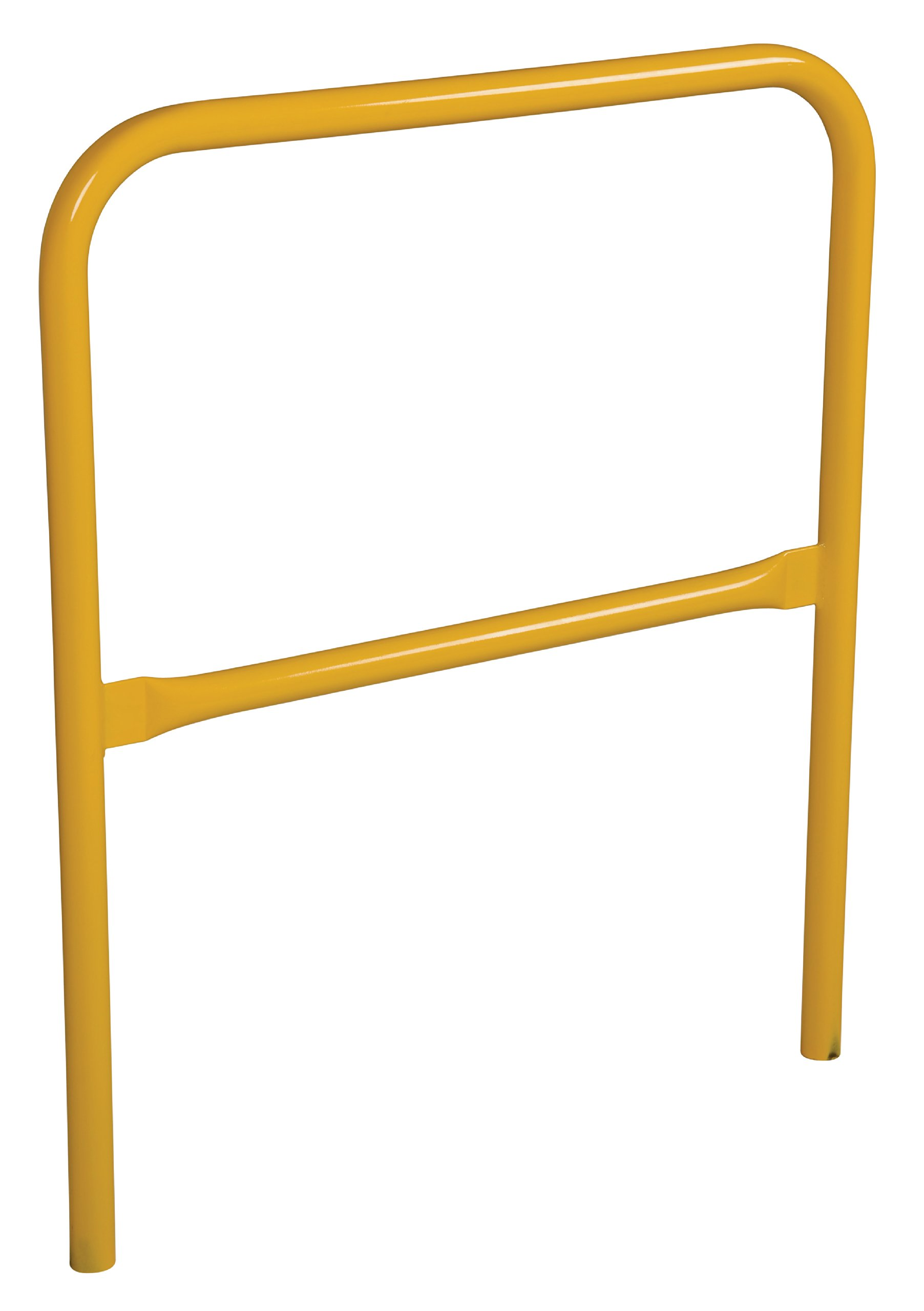 Vestil VDKR-3 Steel Pipe Safety Railing, 42'' x 36'', 1-5/8'' Outside Diameter, Safety Yellow