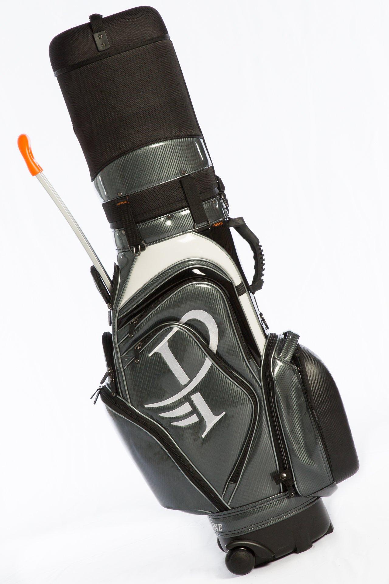 Porterline Travel Cover Golf Bag 901s-00 (Black)