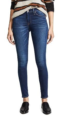 797615ec95e Amazon.com: HUDSON Women's Nico Mid Rise Super Skinny Jeans, Gower ...