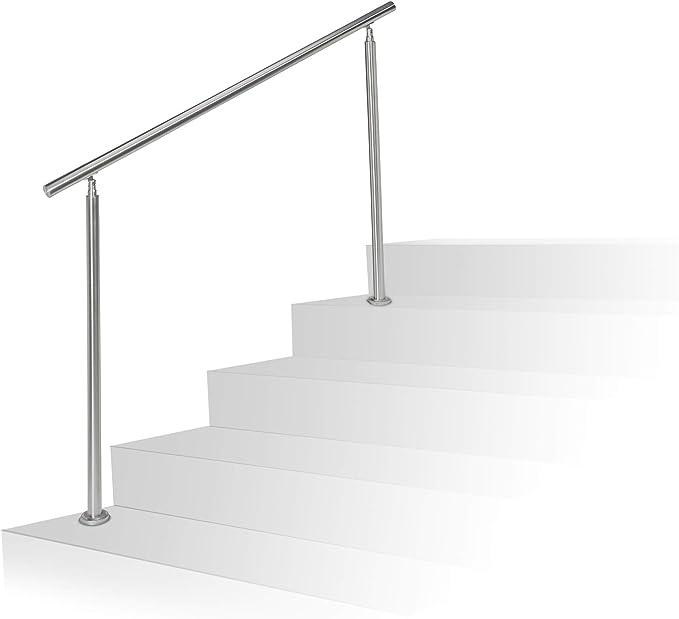 Treppenhandlauf Handlauf Eingangsgeländer am Stück Satz Geländer Wandhandlauf