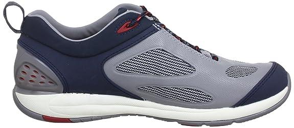 Clarks Orson Harbour 20354021, Scarpe da regata uomo, Blu (Blau (Navy Synthetic)), 41