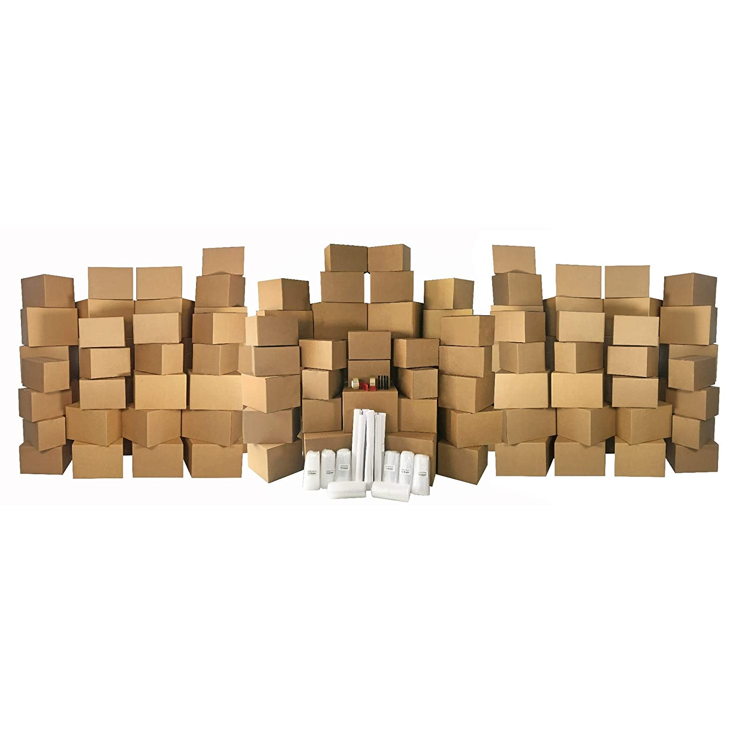 9 Room Basic Moving Kit 136 moving boxes /& $69 in supplies.