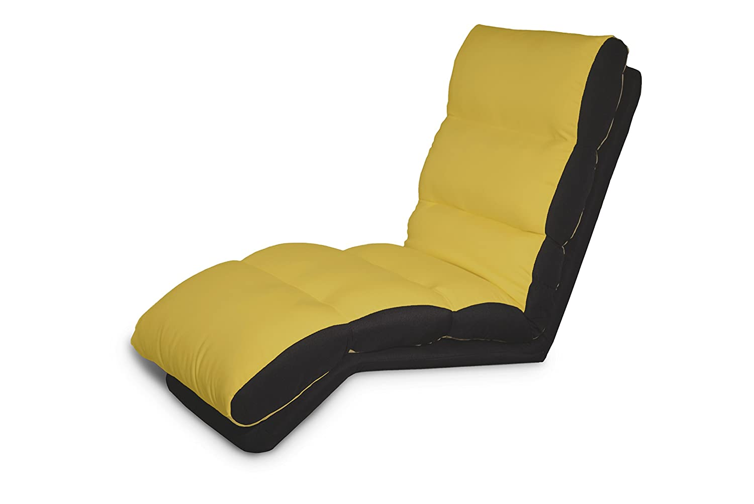 Amazon.com: Lifestyle Solutions Turbo Teen Lounger, Yellow: Kitchen & Dining