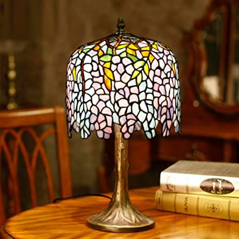 Lámpara de mesa decorativa Lámpara de mesa de estilo europeo ...