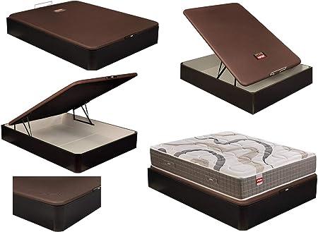 Canapé Abatible NATURBOX Madera 3D, de PIKOLIN – 135x190 cm Wengue