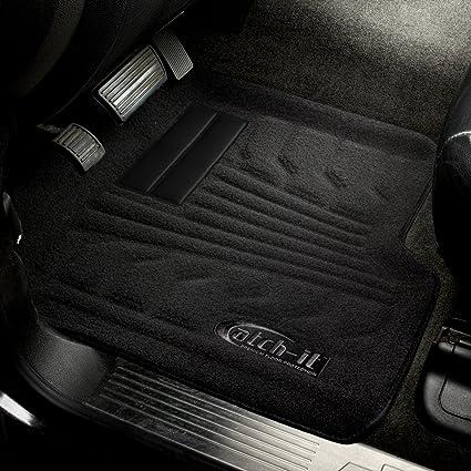 Lund 383202-G Catch-It Vinyl Grey Rear Seat Floor Mat
