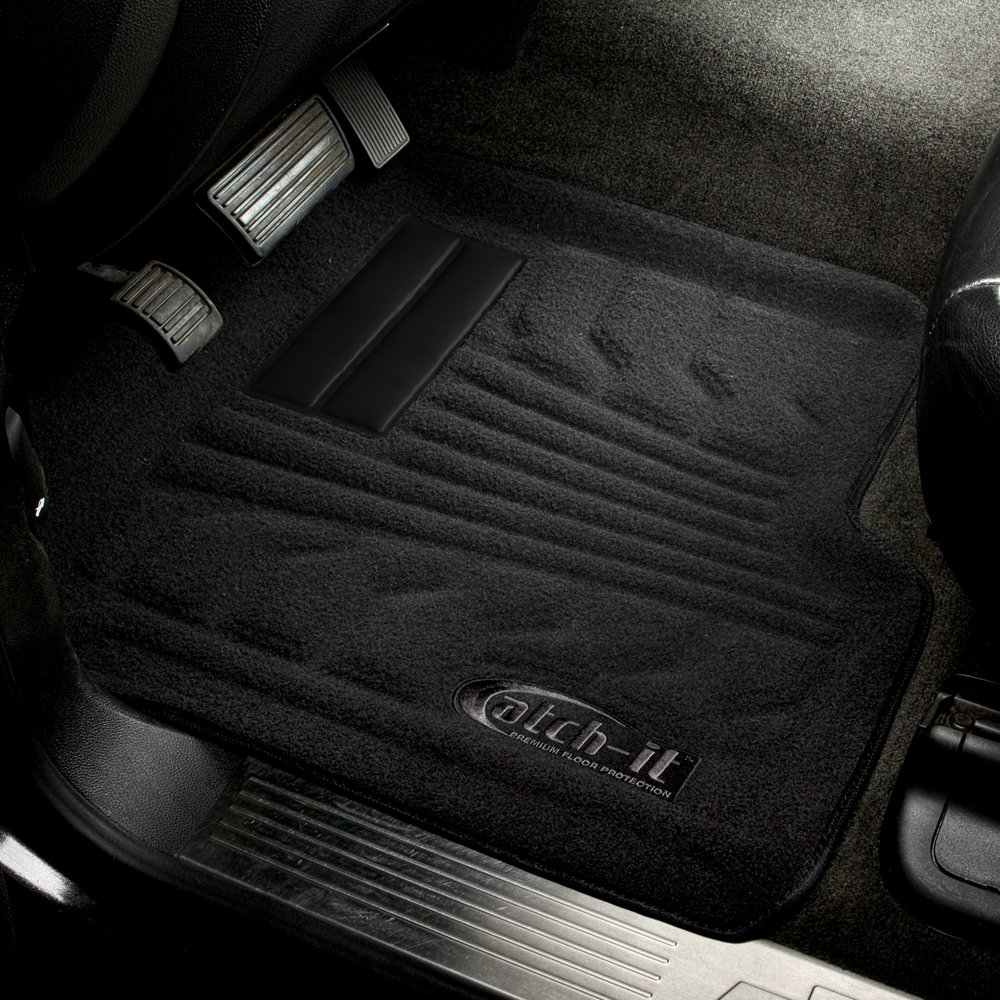 Lund 583080-B Catch-It Carpet Black Front Seat Floor Mat Set of 2