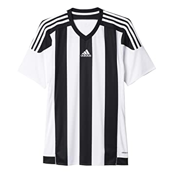 detailed look 0ea3b dc74a adidas M62777K Maillot Mixte Enfant, BlancNoir, FR  XXS (Taille Fabricant