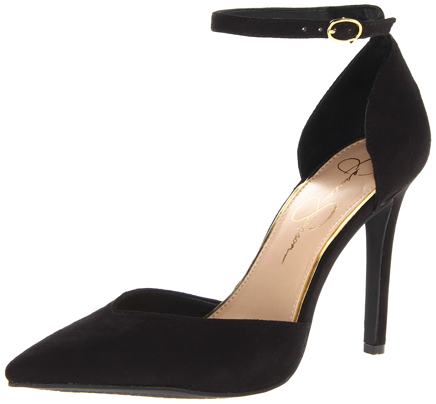 Black Microsuede Jessica Simpson Women's Cirrus Dress-Pump