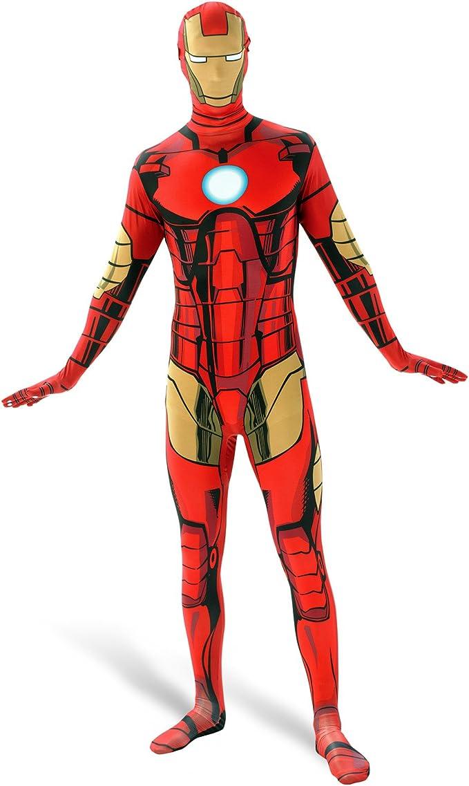 Iron Man – Mono Disfraz hombre: Amazon.es: Juguetes y juegos