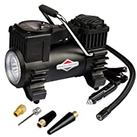 BriggsStratton Tire Inflator Portable Air Compressor Pump with Digital Pressure...