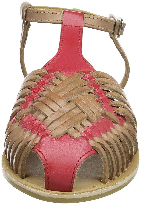 and Femme Casual Joe Leather Bout Sandals Cool Browns Amazon fermé A7wqWq1f