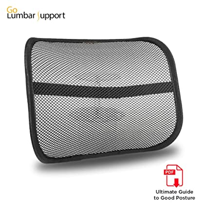 Lumbar Lower Back Support For Car Seat And Office Ergonomic Desk Chair UPGRADE VERSION WITH