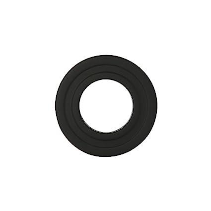 Kamino - Flam – Rosetón para tubo de chimenea, Acero rosetón conector para sistema de