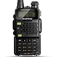 $40 » Two Way Radio, Baofeng Walkie Talkie UV-5R5 5W Dual-Band Two-Way Ham Radio Transceiver…