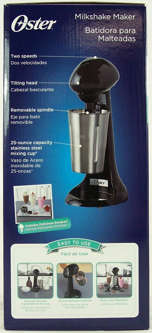 Amazon.com: Oster Ice Cream Shop- Milkshake Maker- Black: Kitchen & Dining