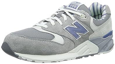 new product 4344e 07f10 new balance Women's 999 Grey Sneakers - 8 UK/India (41.5 EU ...