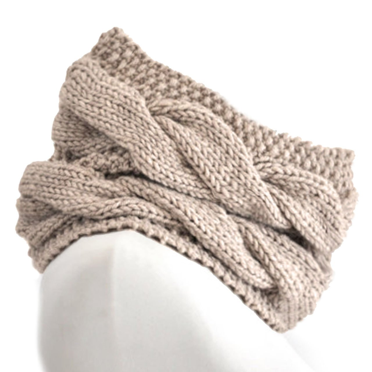 Chunky Hand Knit Cable Circle Scarf - 100% Baby Alpaca Wool - Dye Free - Soft, Warm & Fashionable by Incredible Natural Creations from Alpaca - INCA Brands