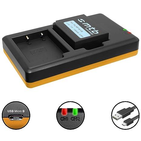 Batería + Cargador Doble (USB) para NP-W126(S) / Fujifilm X100F / X-A1, A2, A3, A10 / X-E1, E2(S), M1, Pro1, Pro2, T2, T10, T20. / HS50EXR…- v. Lista! ...