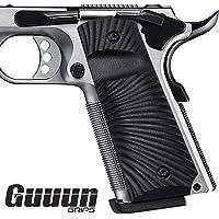 1911 Handgun Pistol Grip caoutchouc pour 1911 PG-1911-1 Noir par Pearce