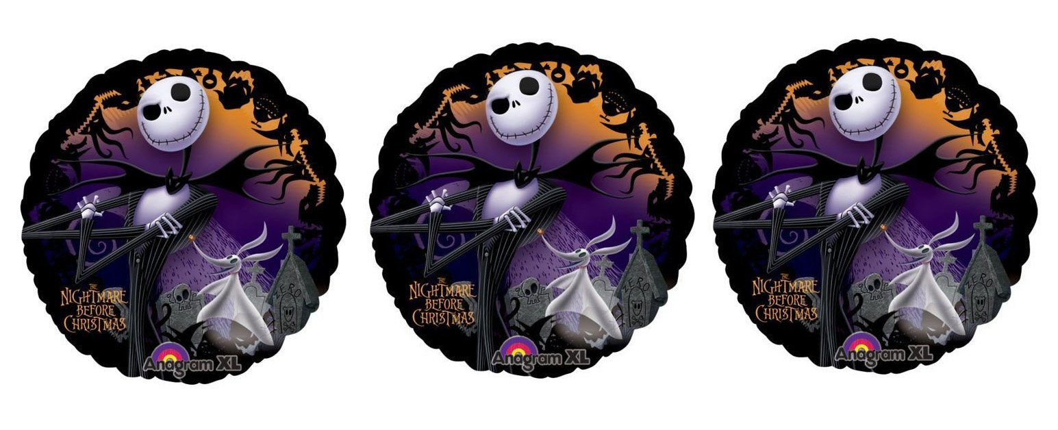 Nightmare Before Christmas Edible Cake Topper