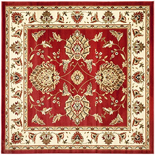 Safavieh Lyndhurst Collection LNH555-4012 Traditional Oriental Square Area Rug, 6'7