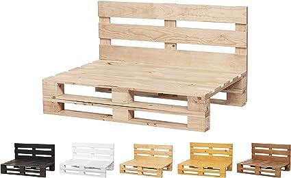 Sofa De Palets Lijado Y Cepillado Interior Exterior Nuevo Sillon Palets Sofa Para Patio 120cm X 80cm Acabado Crudo Amazon Es Hogar