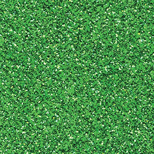 American Crafts Coredinations Specialty Cardstock Glitter Silk 20 Pack of 12 x 12 Inch Green Sheen, Large