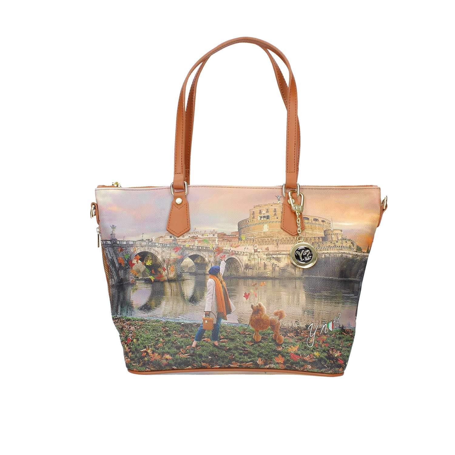 YNOT K-396 SHOPPER Donna STAMPA ROMA TU Y Not?