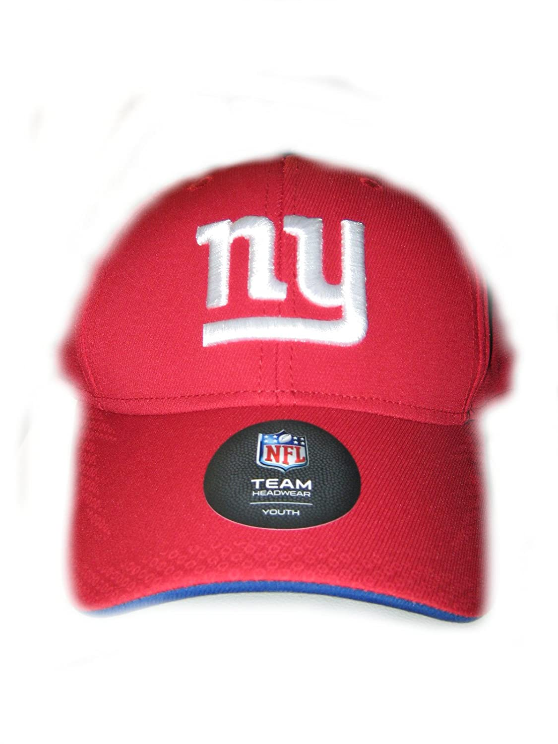 Amazon.com  New York Giants Red NFL Youth FitMax Hat - Cap  Clothing 6c18965a6f1