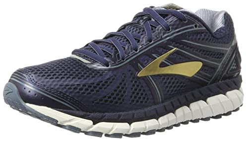 fc0c843ce083f Image Unavailable. Image not available for. Colour  Brooks Men s Beast  16  Peacoat Navy China Blue Gold Athletic Shoe