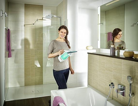 Leifheit fenstersauger set dry & clean mit stiel & einwascher für