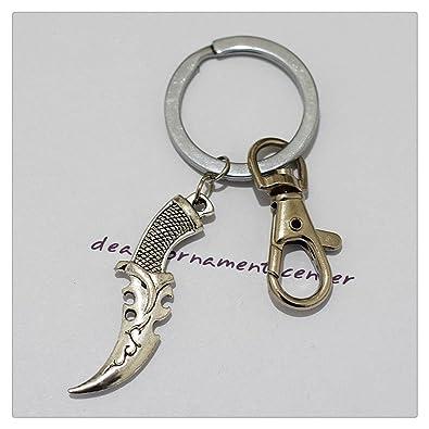 Cuchillo Llavero, personalizado llavero, personalizado ...