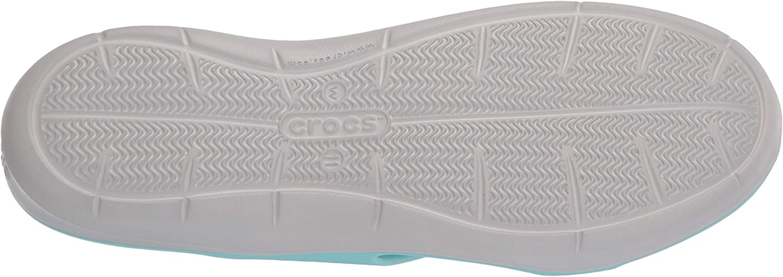 Crocs Swiftwater D, Sandali A Punta Aperta Donna Ice Blue Pearl White