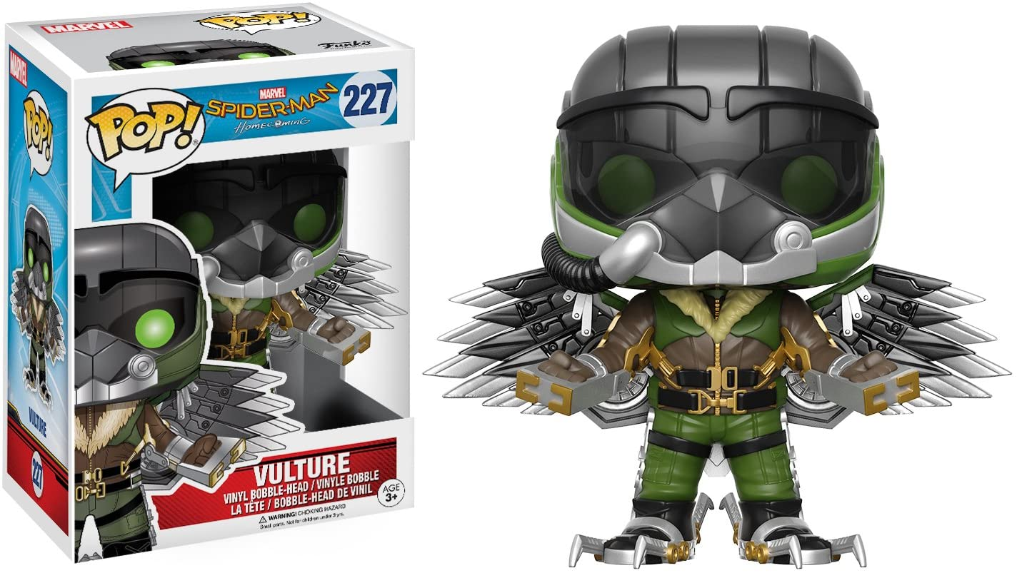 Amazon Com Funko Pop Marvel Spider Man Homecoming The Vulture