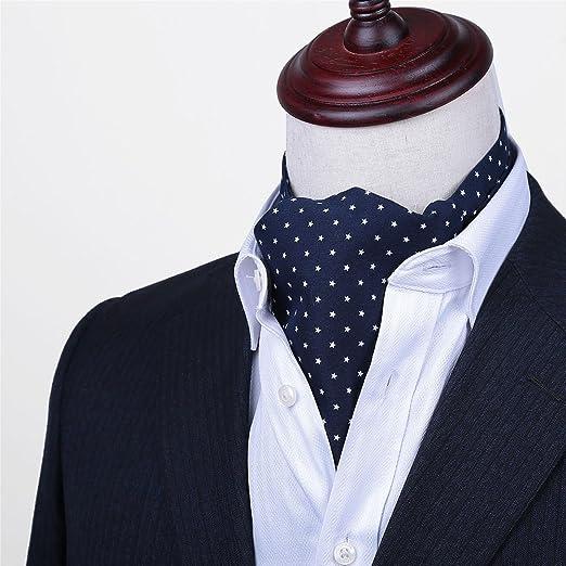 LIANGJUN Corbata Seda Corbata Bufanda Elegent Hombres Camisa ...