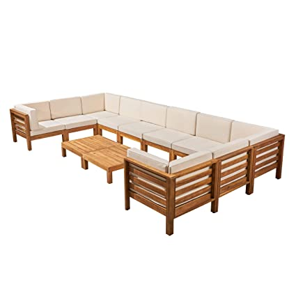 Amazon.com : Great Deal Furniture Annabelle Outdoor U-Shaped ...