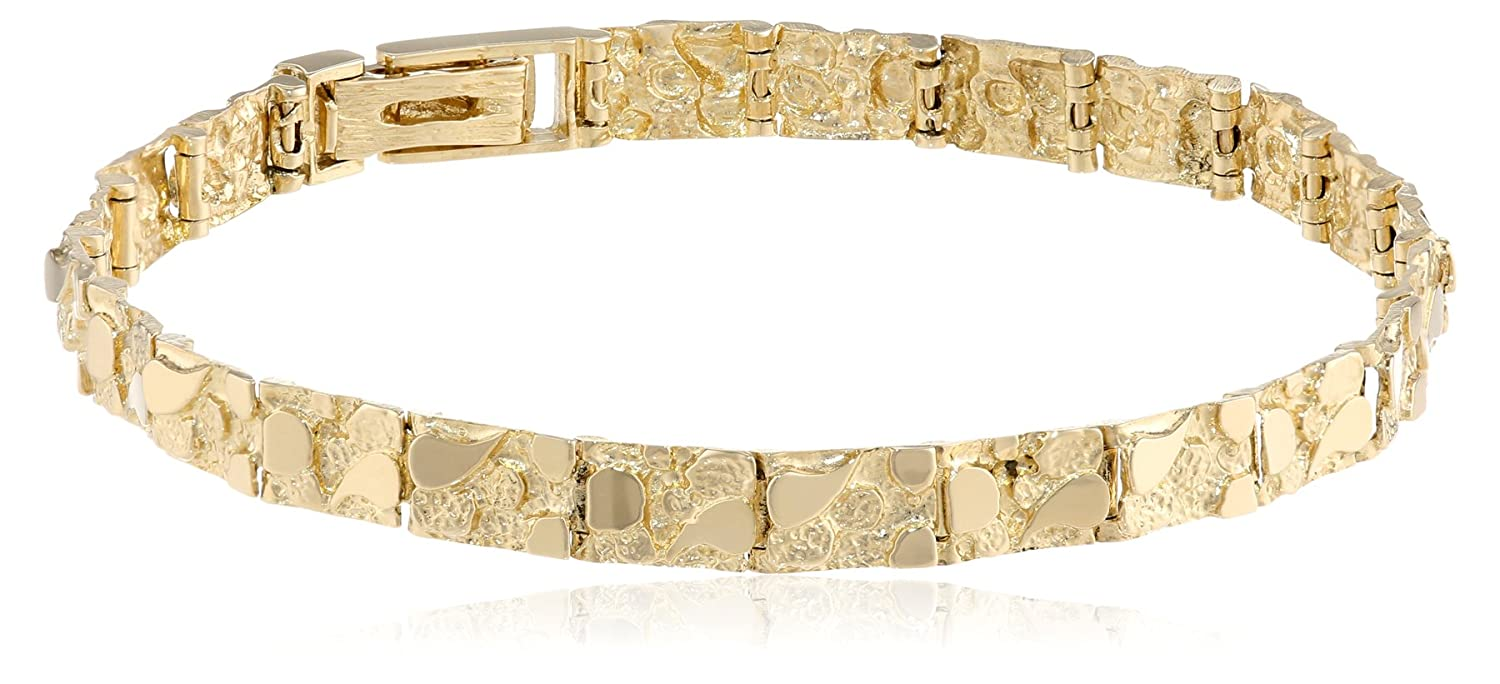 real gold products chain cut diamond solid yellow mathis bracelet