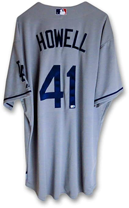 efde7b6cc Ken Howell Team Issued Jersey LA Dodgers 2013 Road Gray #41 MLB HZ844030 -  Other