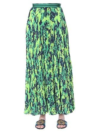 MR&MRS ITALY Luxury Fashion Mujer LS0103739 Verde Falda ...