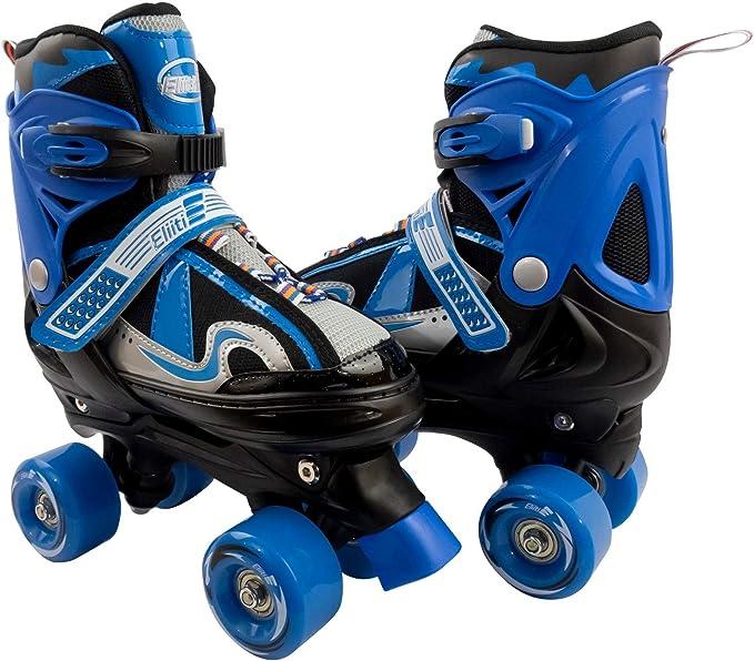Roller Skates Adjustable Size for Kids//Adult 4 Wheels Children Boys /& Girls Gift