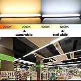 2ft LED Tube Light, 26W 2300LM 3000K
