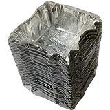 Japan-made more rigid disposable aluminum foil baking cup (500 pieces), square