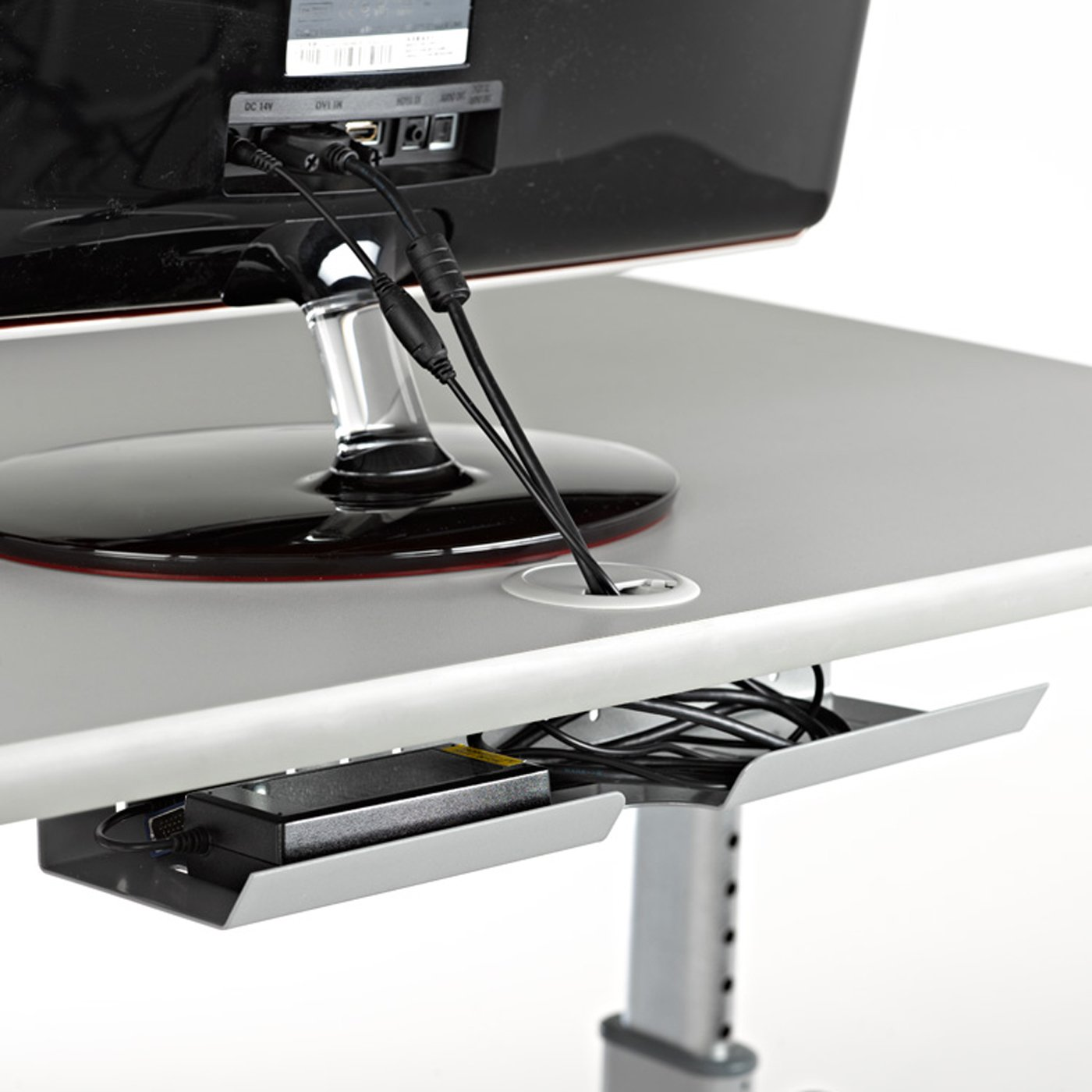 Amazon.com : LifeSpan TR1200-DT5T Treadmill Desktop with Tandem Desk ...