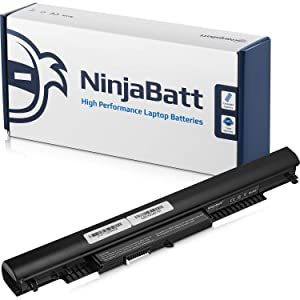 NinjaBatt Laptop Battery for HP 807956-001 807957-001 HS04 HS03 807612-421 807611-221 240 G4 HSTNN-LB6U HSTNN-DB7I HSTNN-LB6V TPN-I119 807611-421 807611-131 – High Performance [4 Cells/2200mAh/33Wh]