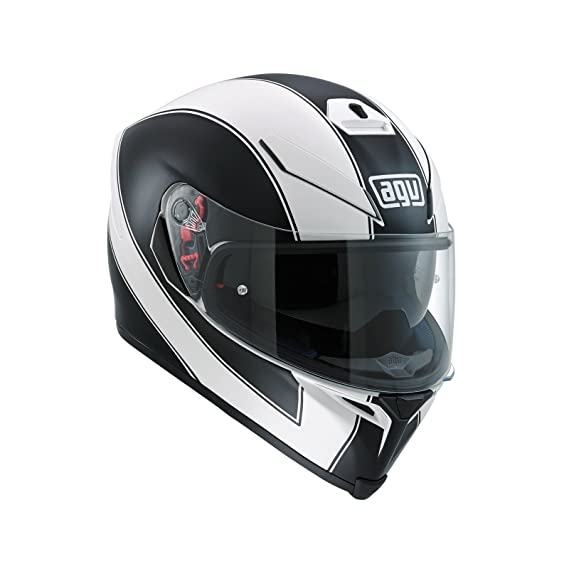 Amazon.es: AGV Casco Moto K-5 S E2205 Multi plk, Enlace White Matt/Black, ML